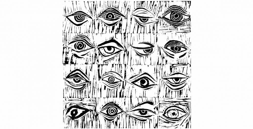 Eyes engravings.