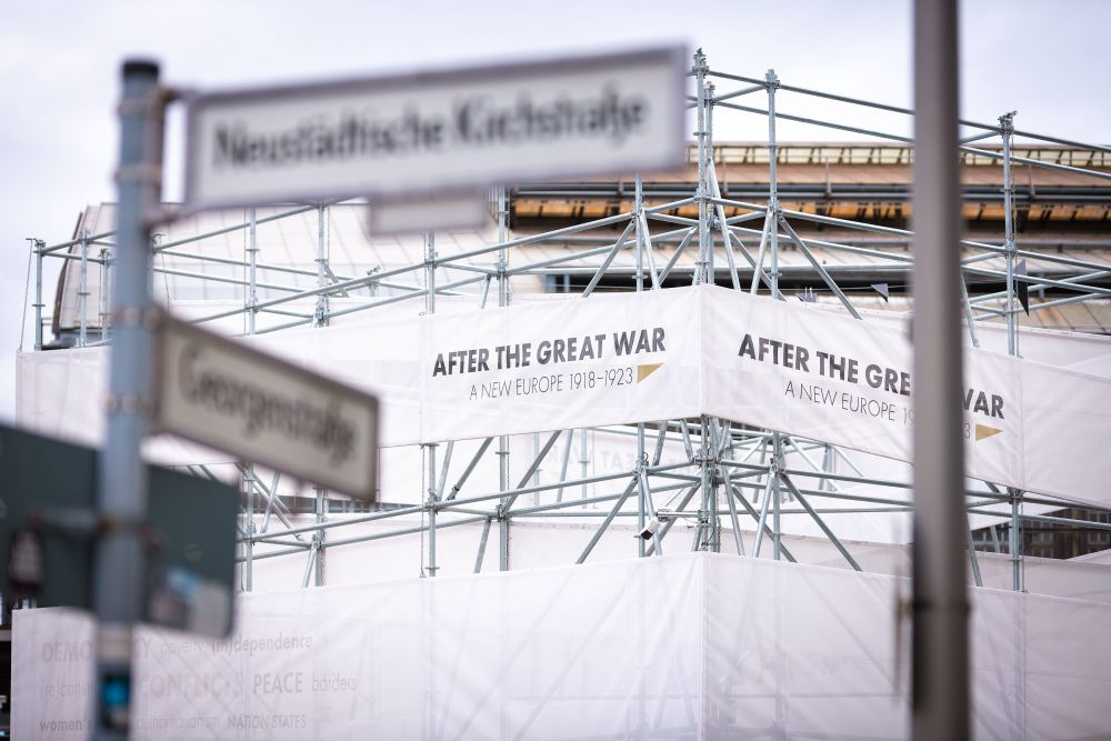 After the Great War. A New Europe 1918-1923 exhibition in Berlin, 4 - 24 October 2019. Photo: Dominik Tryba.