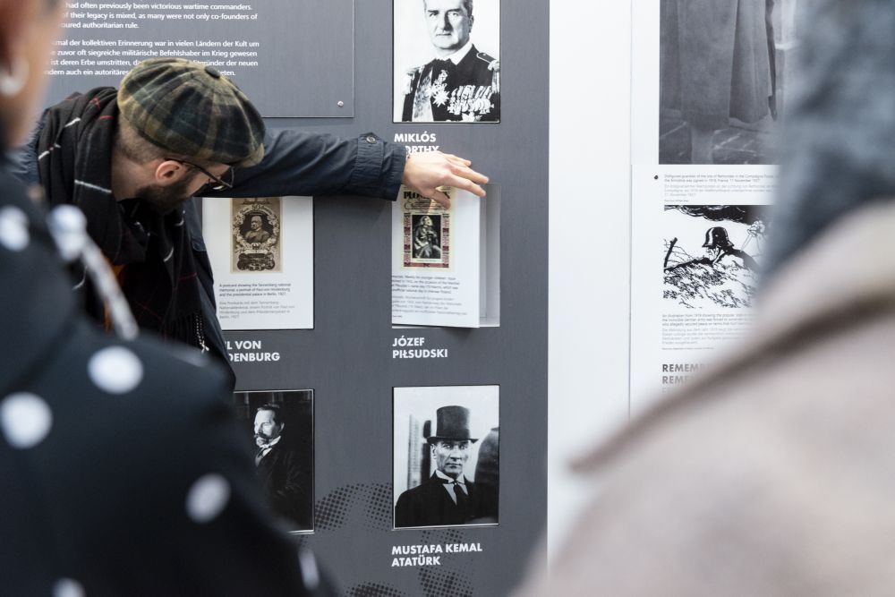 After the Great War. A New Europe 1918-1923 exhibition in Weimar, 1 - 19 November 2019. Photo: Caroline Schluter.
