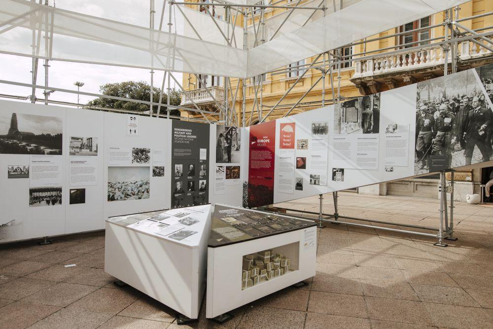 After the Great War. A  New Europe 1918 - 1923 exhibition in Rijeka, 18 October - 11 November 2020. Photo: Karlo Čargonja.