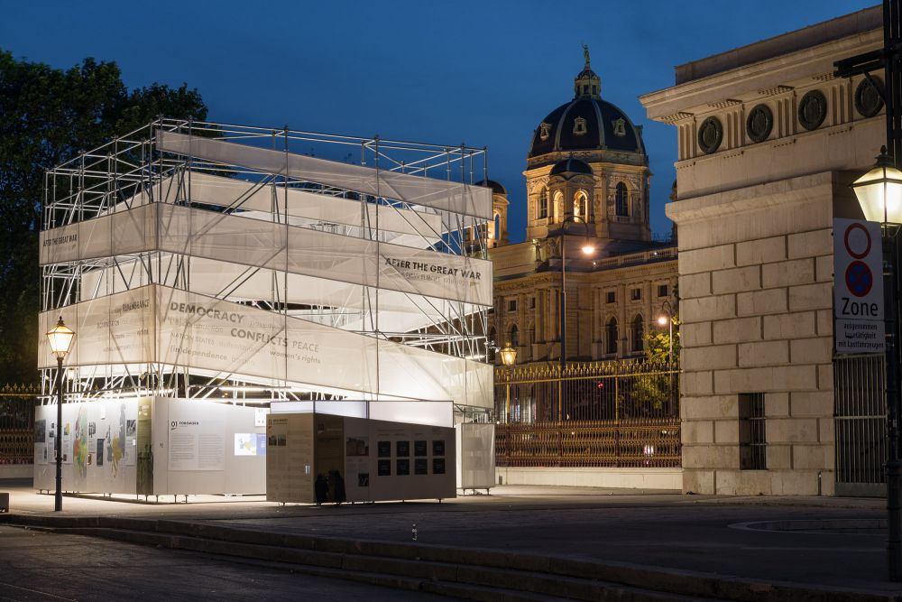 After the Great War. A New Europe 1918-1923 in Vienna, 20 May – 3 August 2021. Photo: Rainer Mirau.