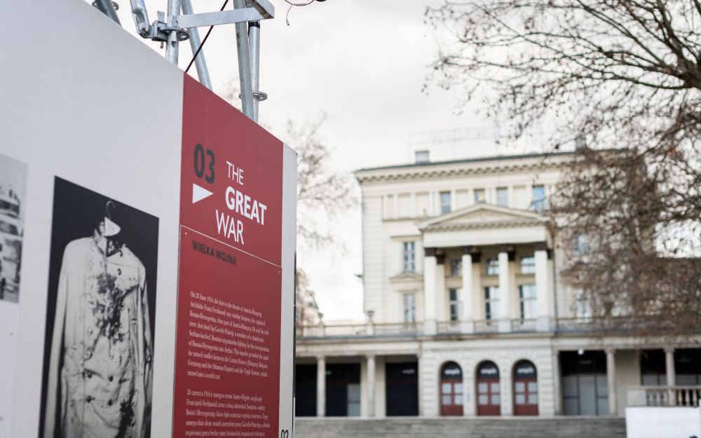 After the Great War. A New Europe 1918-1923 exhibition in Poznań, 4 March – 8 April 2021. Photo: Dominik Tryba.