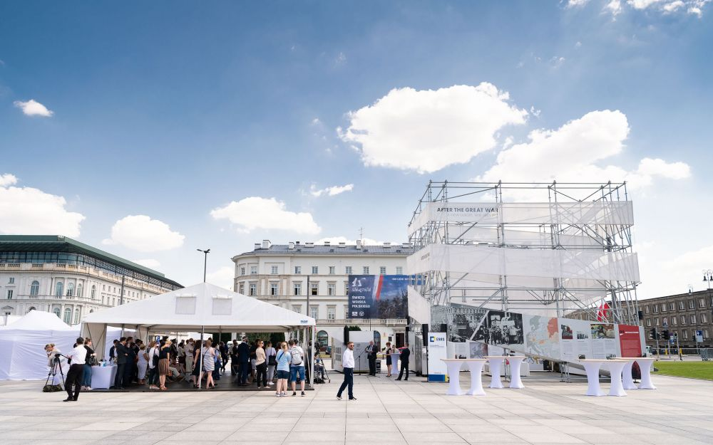 After the Great War. A  New Europe 1918 - 1923 exhibition in Warsaw, 13 August - 8 October 2020. Photo: Dominik Tryba.