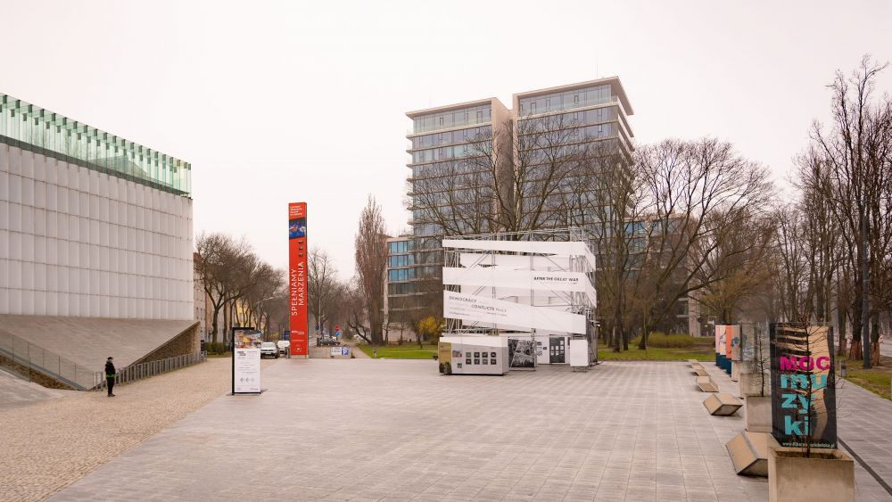 After the Great War. A New Europe 1918-1923 exhibition in Lublin, 13 April – 11 May 2021. Photo: Dominik Tryba.