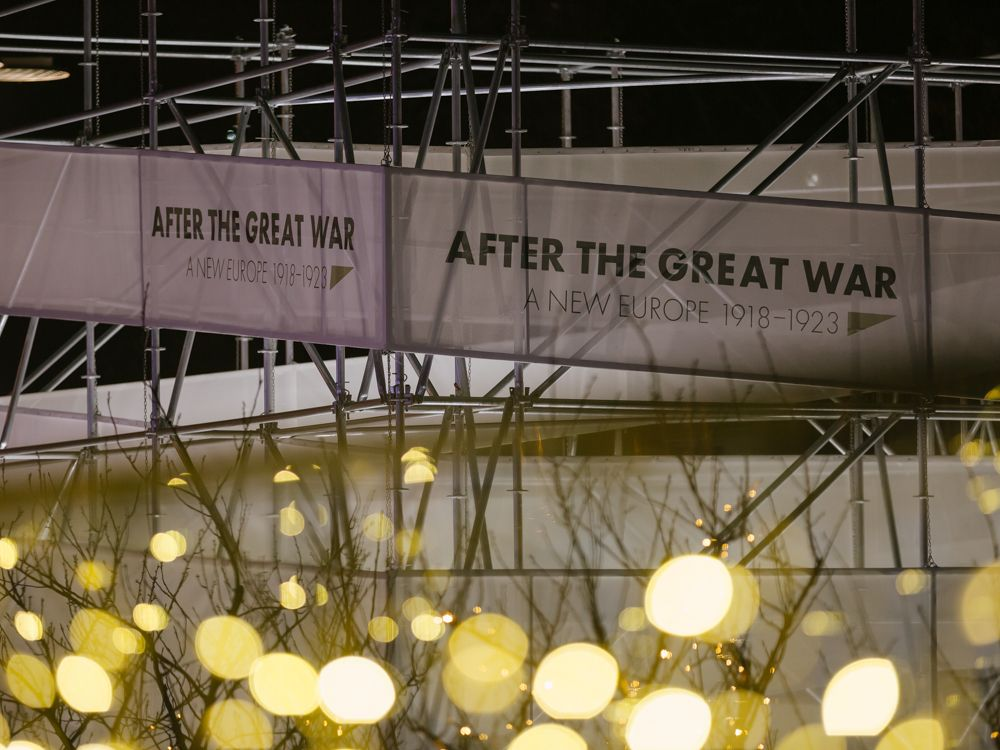 After the Great War. A New Europe 1918-1923 exhibition in Sarajevo, 19 November - 18 December 2018. Photo: Vanja Cerimagic / ENRS.