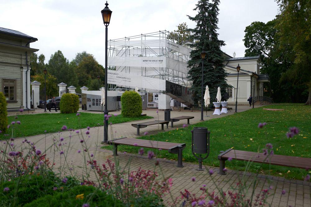 Exhibition displayed in the Memorial Complex of the Tuskulenai Peace Park in Vilnius. Photos: Bartosz Frątczak
