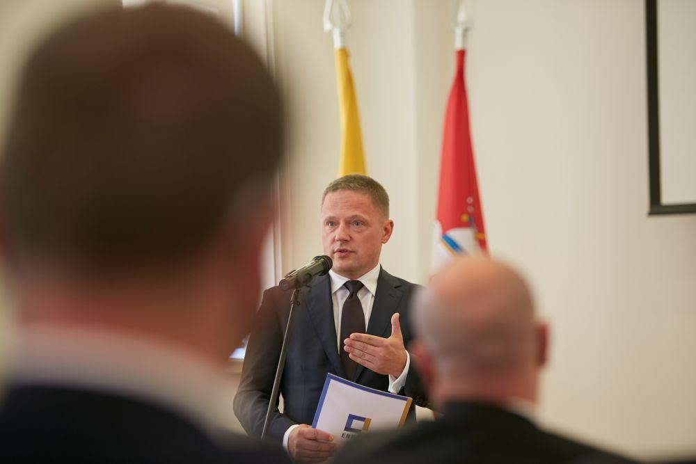 Mr Rafał Rogulski (Director of  the ENRS). Photos:  Bartosz Frątczak