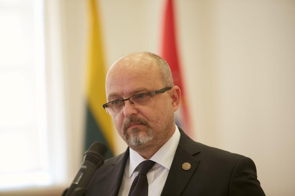 Dr. Ján Pálffy, Chairman of the ENRS Steering Committee. Photo: Bartosz Frątczak