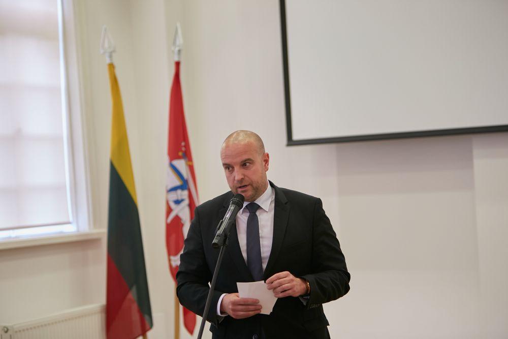 Mr. Ladislav Babčan (Ambassador of the Slovak Republic to the Republic of Latvia and Republic of Lithuania). Photos: Bartosz Frątczak