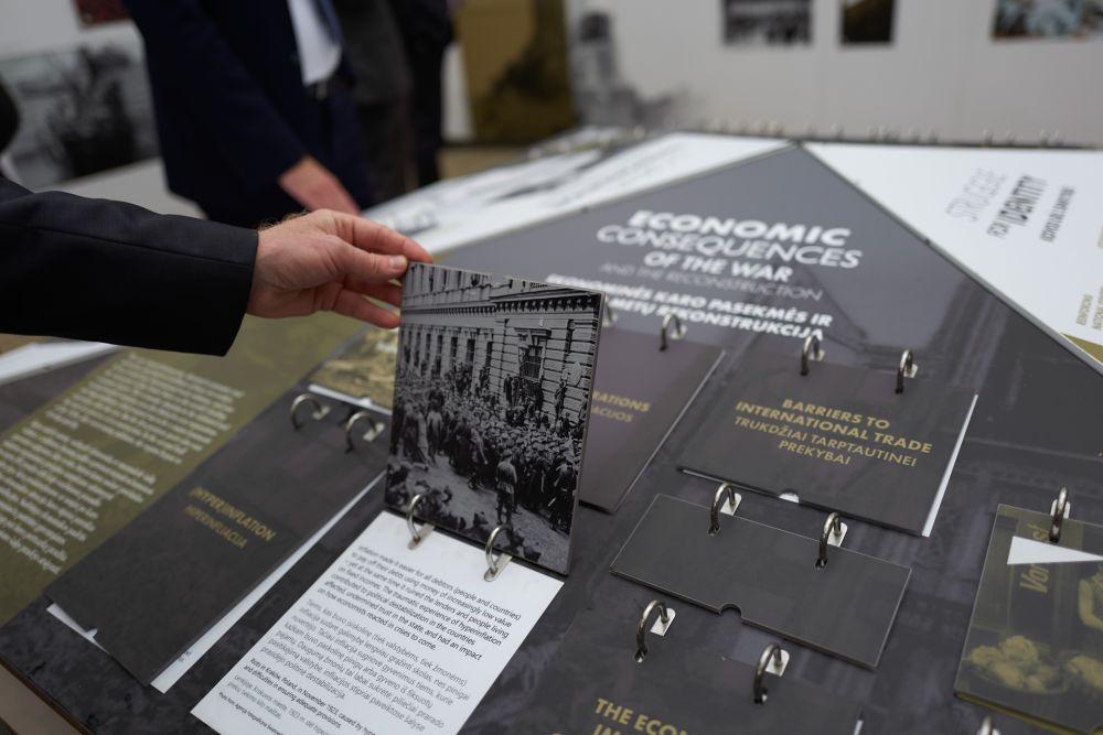 Official opening of the exhibition in Vilnius. Photos: Bartosz Frątczak