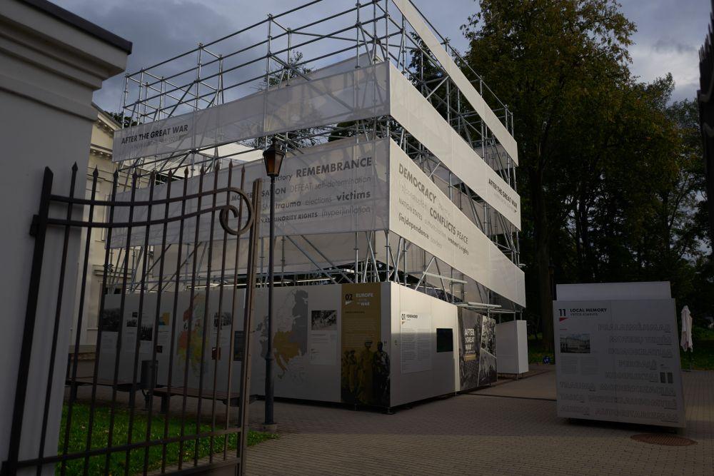 Official opening of the exhibition in Vilnius. Photos: Bartosz Frątczak.
