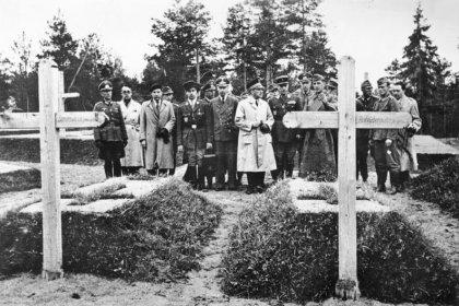 cover image of The Katyn Massacre