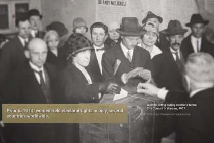 cover image of After the Great War. A New Europe 1918–1923 – women and electoral rights
