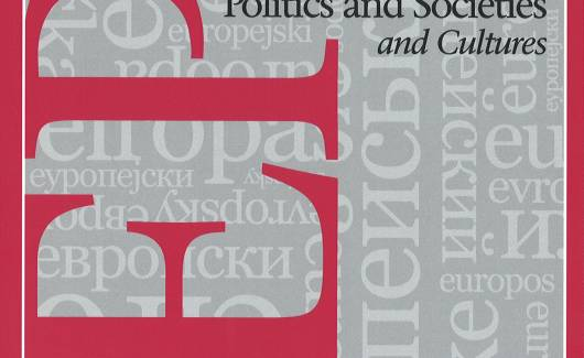 Photo of the publication East European Politics and Societies: and Cultures, Vol 31, Issue 3, 2017