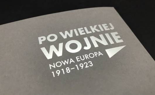 Photo of the publication After the Great War. Exhibition Catalogue [PL]