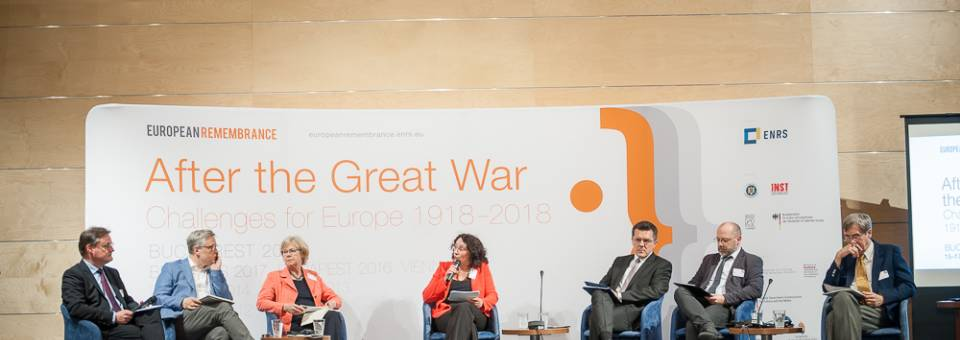 Photo of the publication After the Great War. Challenges for Europe 1918-2018 – discussion