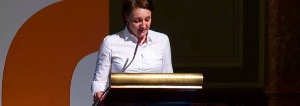 Photo of the publication European Remembrance Symposium 2016: Dr Magdalena Gawin (welcome speech)