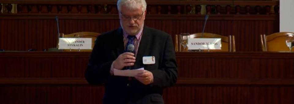 Photo of the publication European Remembrance Symposium, Budapest 2016: Turbo Presentations