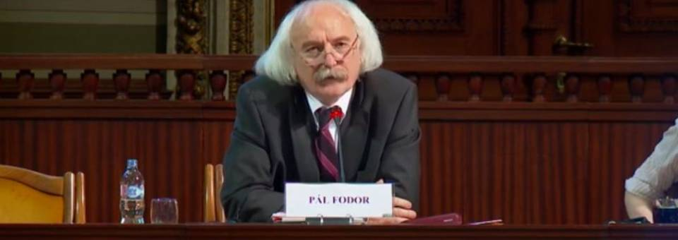 Photo of the publication European Remembrance Symposium, Budapest 2016: Pál Fodor