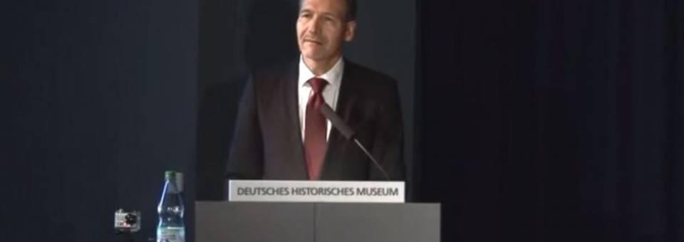 Photo of the publication Vorlesung van Alexander Koch, Leiter des Deutsches Historisches Museum
