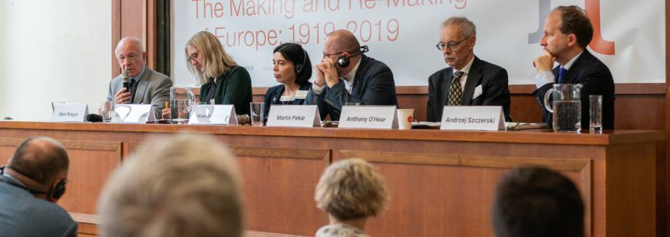 Photo of the publication Re-makings of Europe: legacies on display – discussion