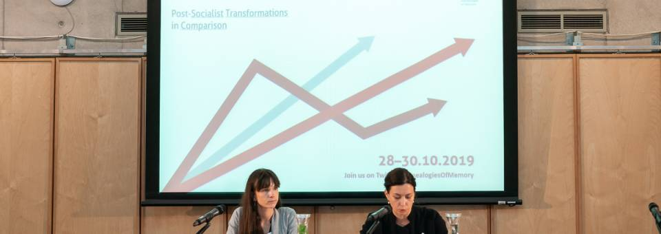 Photo of the publication Myths, Memories and Economies conference: opening remarks