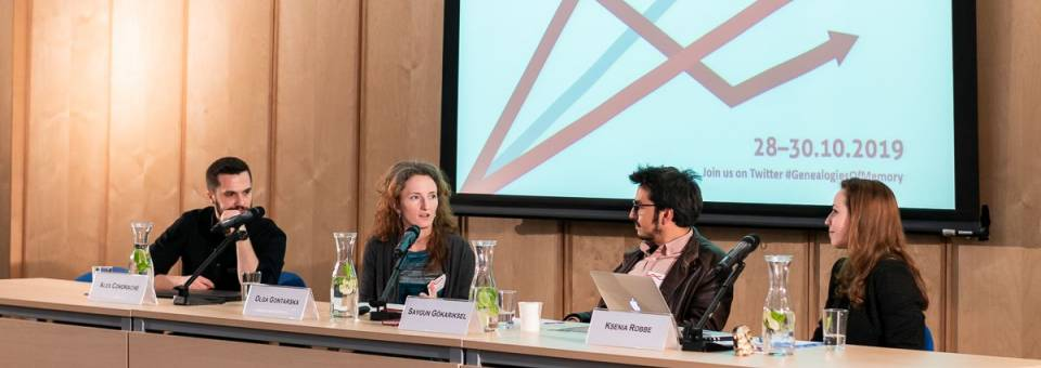 Photo of the publication Panel 4. Cultural Memory and Economy