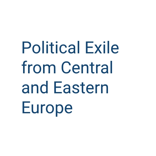 Political exile from Central and Eastern Europe