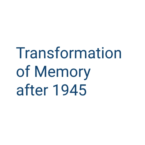 The Transformation of Memory after 1945: European Perspectives on the City, Migration and Remembrance