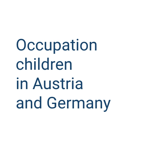 Occupation children in Austria and Germany