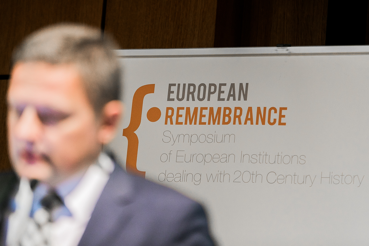 The 8th European Remembrance Symposium starts on Monday, 27 May
