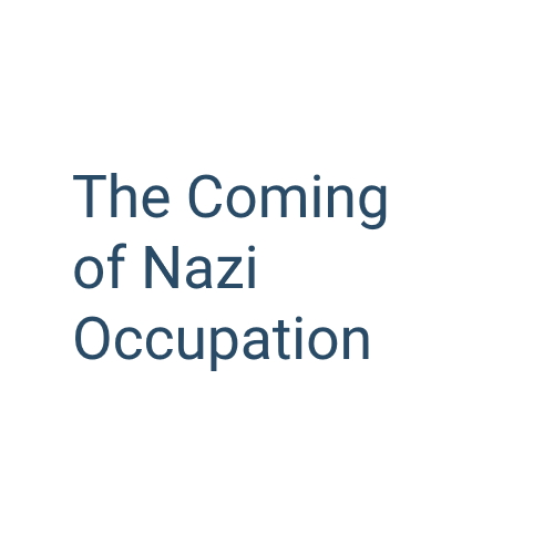 The Coming of Nazi Occupation: Patterns of continuity and changes in Jewish and Polish life, 1939-1941
