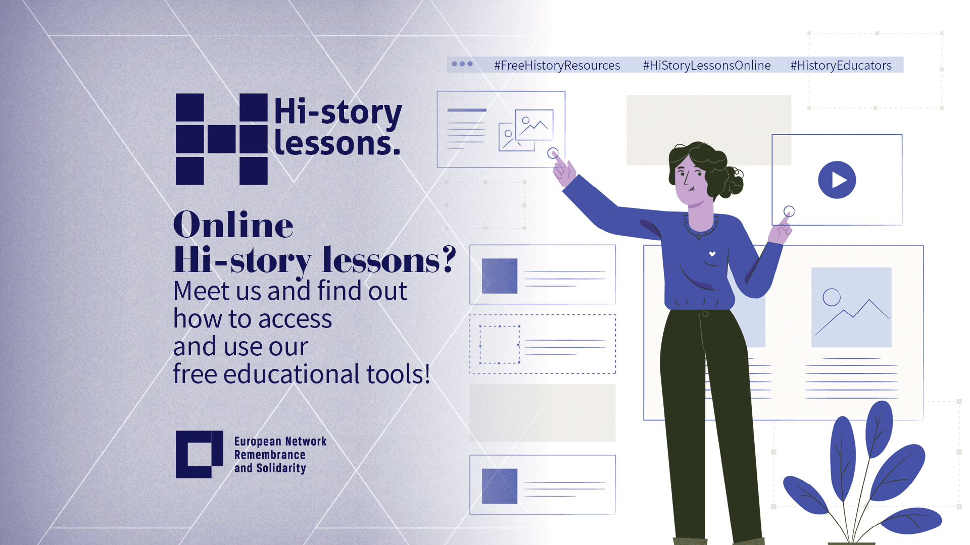 Hi-story Lessons: registration for the webinar is now closed